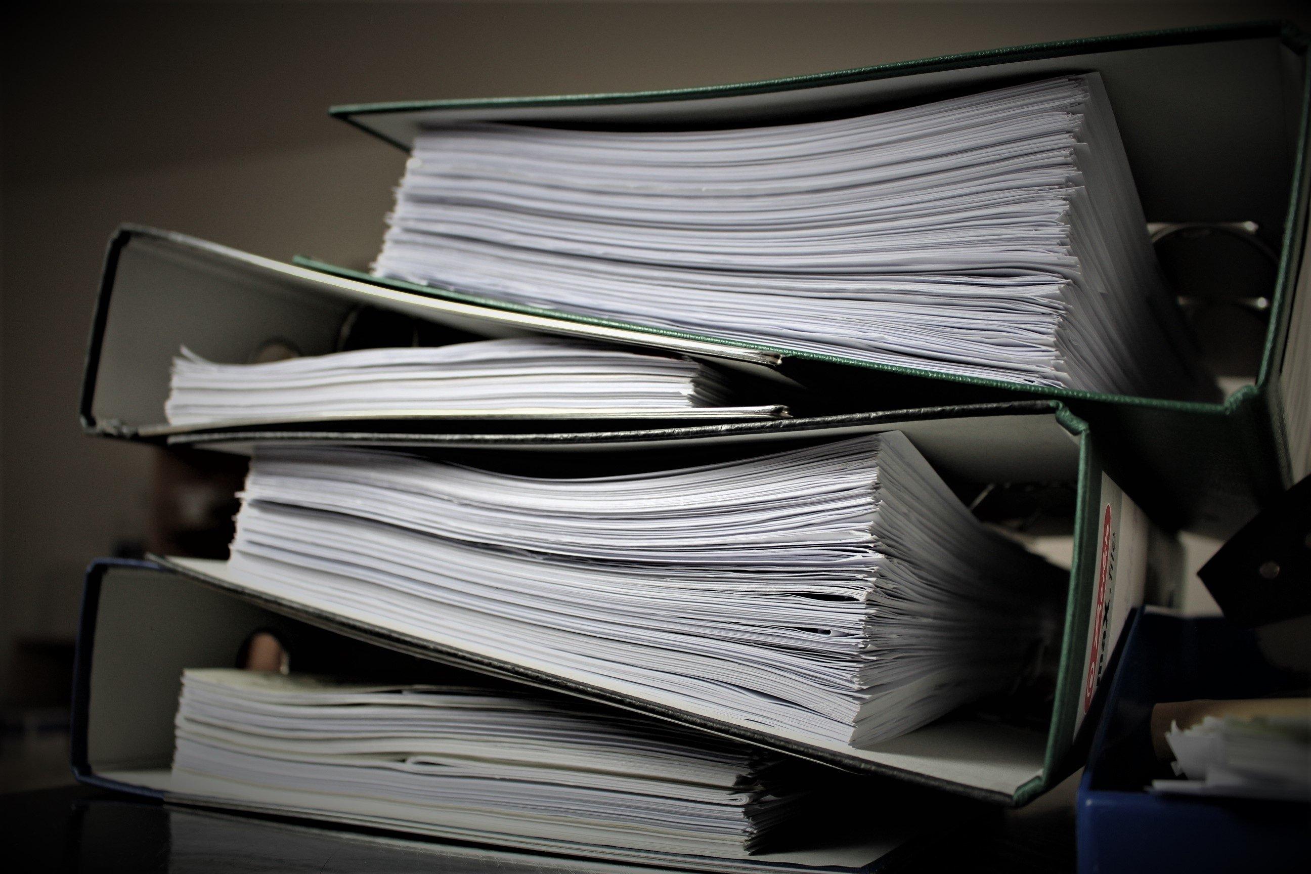 Pile of Folders