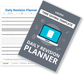 Exam revision plan template for students and teachers