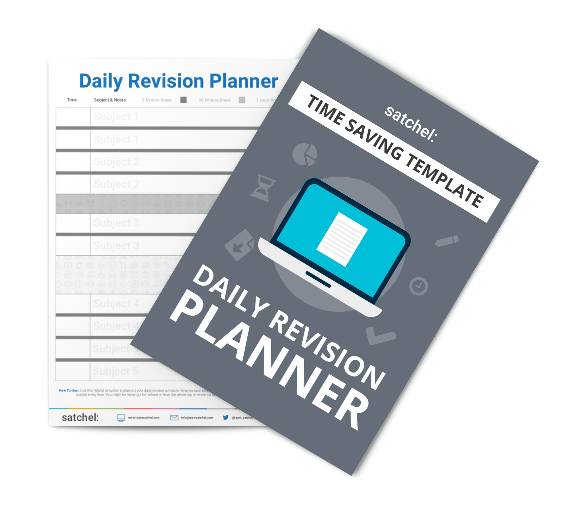 Daily Revision planner template