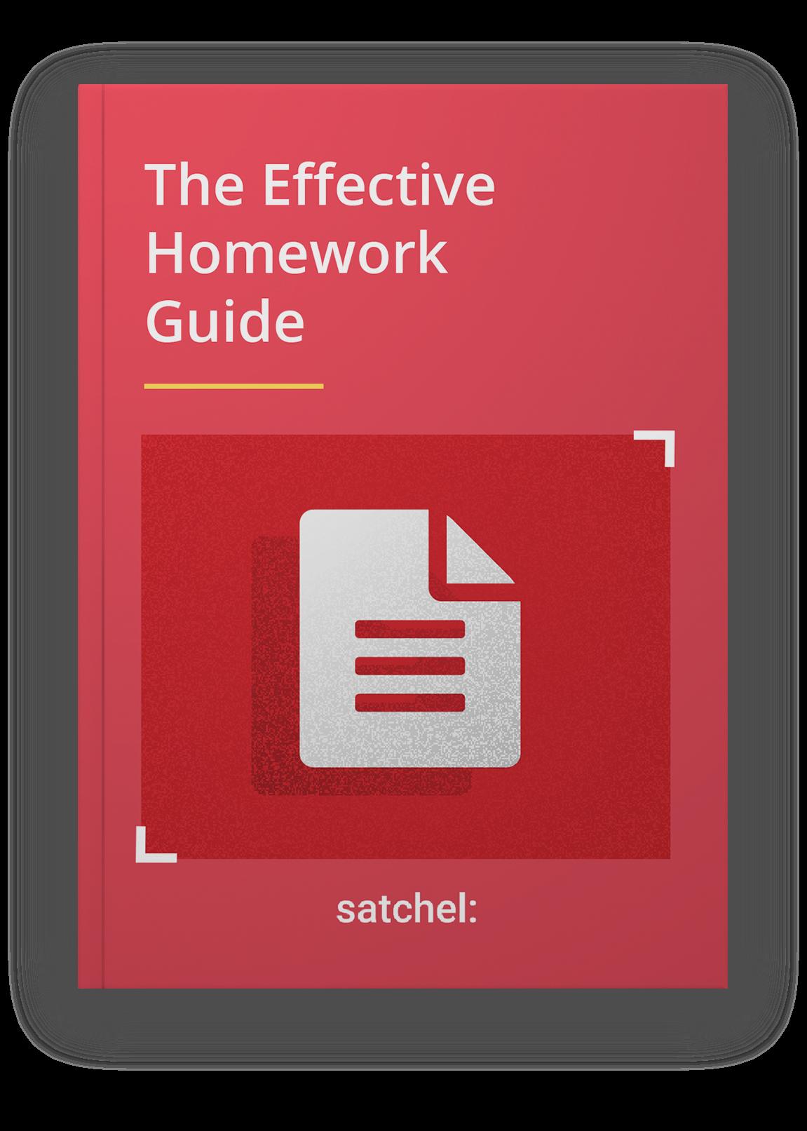 Effective Homework Guide