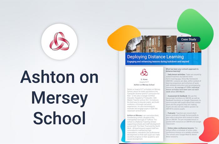 Ashton On Mersey School Case Study