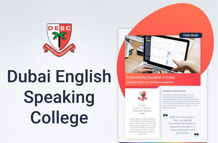 Dubai English Speaking College Case Study
