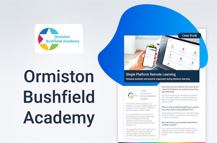 Ormiston Bushfield Academy Case Study
