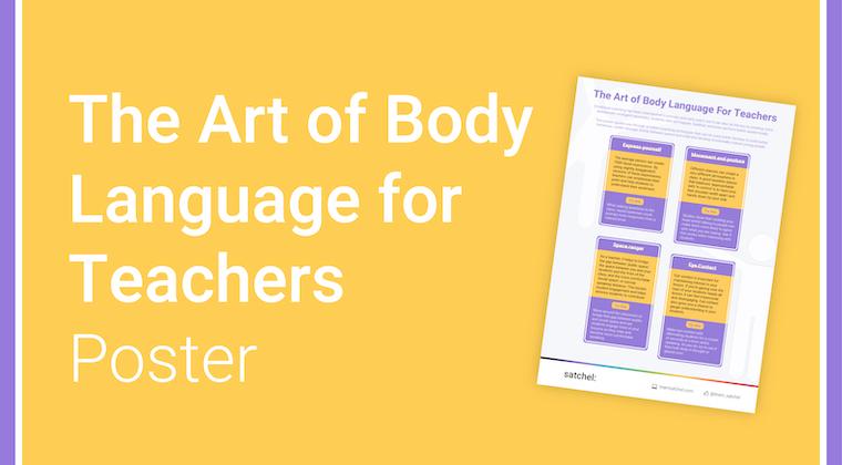 Art of Body Language Poster