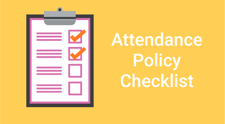 Attendance Policy Checklist copy