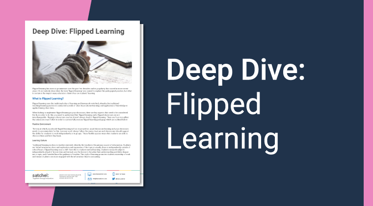 Deep Dive Flipped Learning