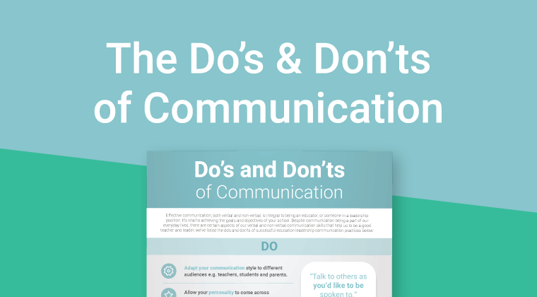Dos & donts Communication