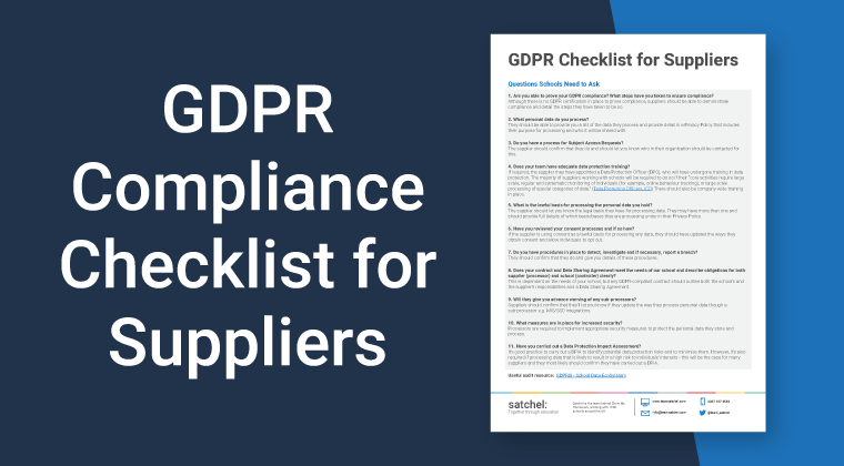 GDPR Compliance for Suppliers