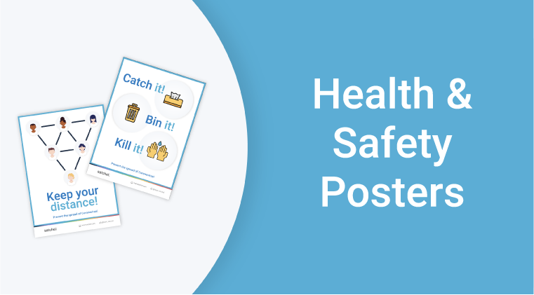Health & Safety Covid Posters RC