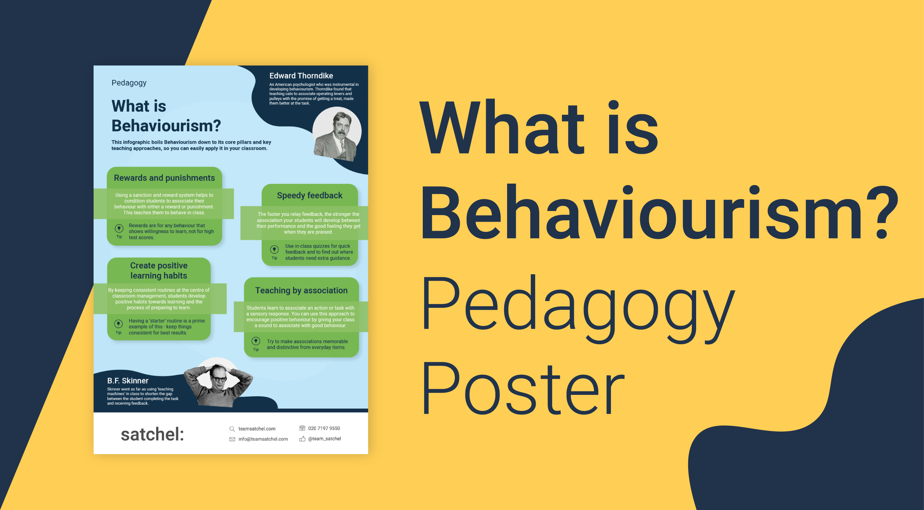 Pedagogy Behaviourism Poster