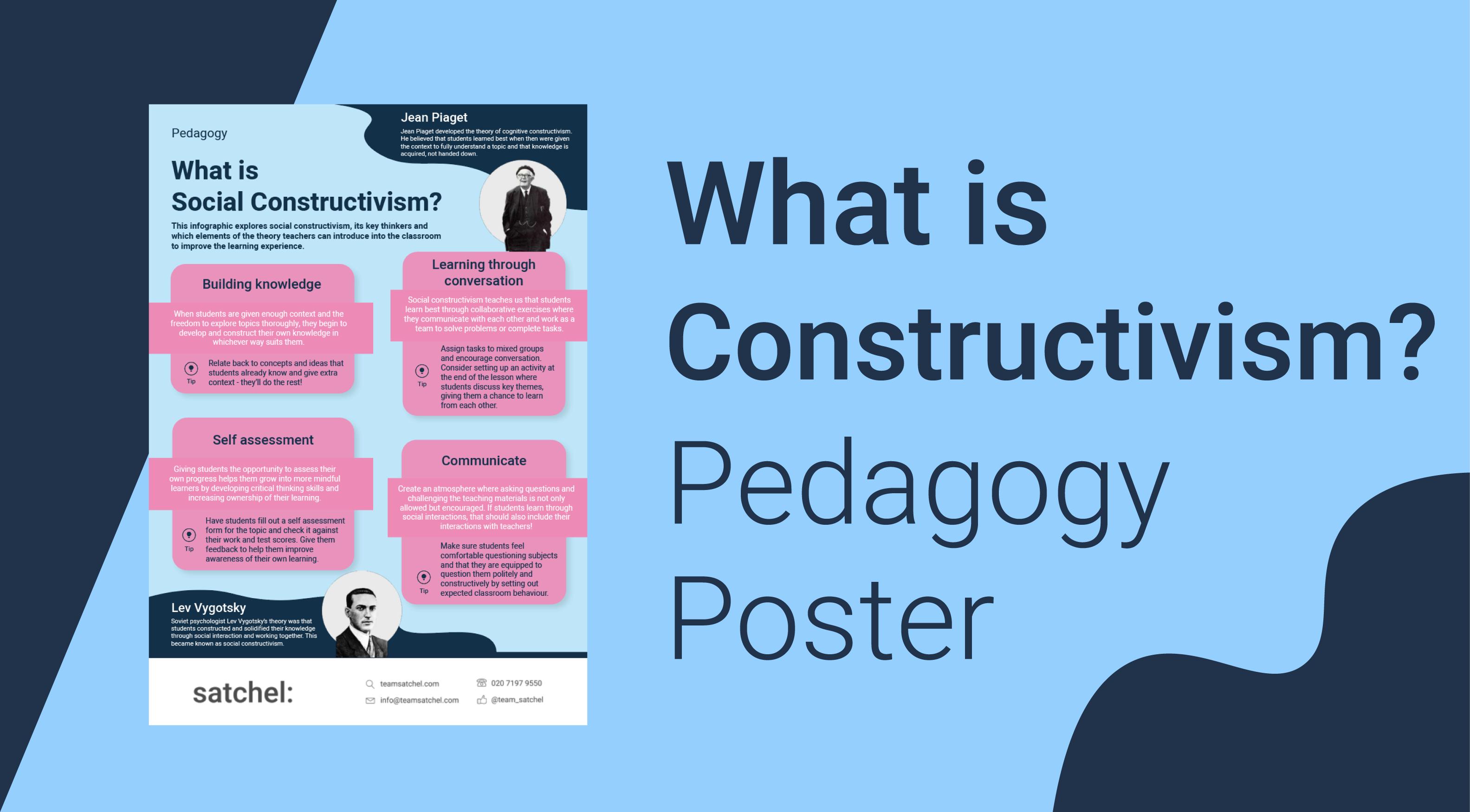 Pedagogy Constructivism Poster