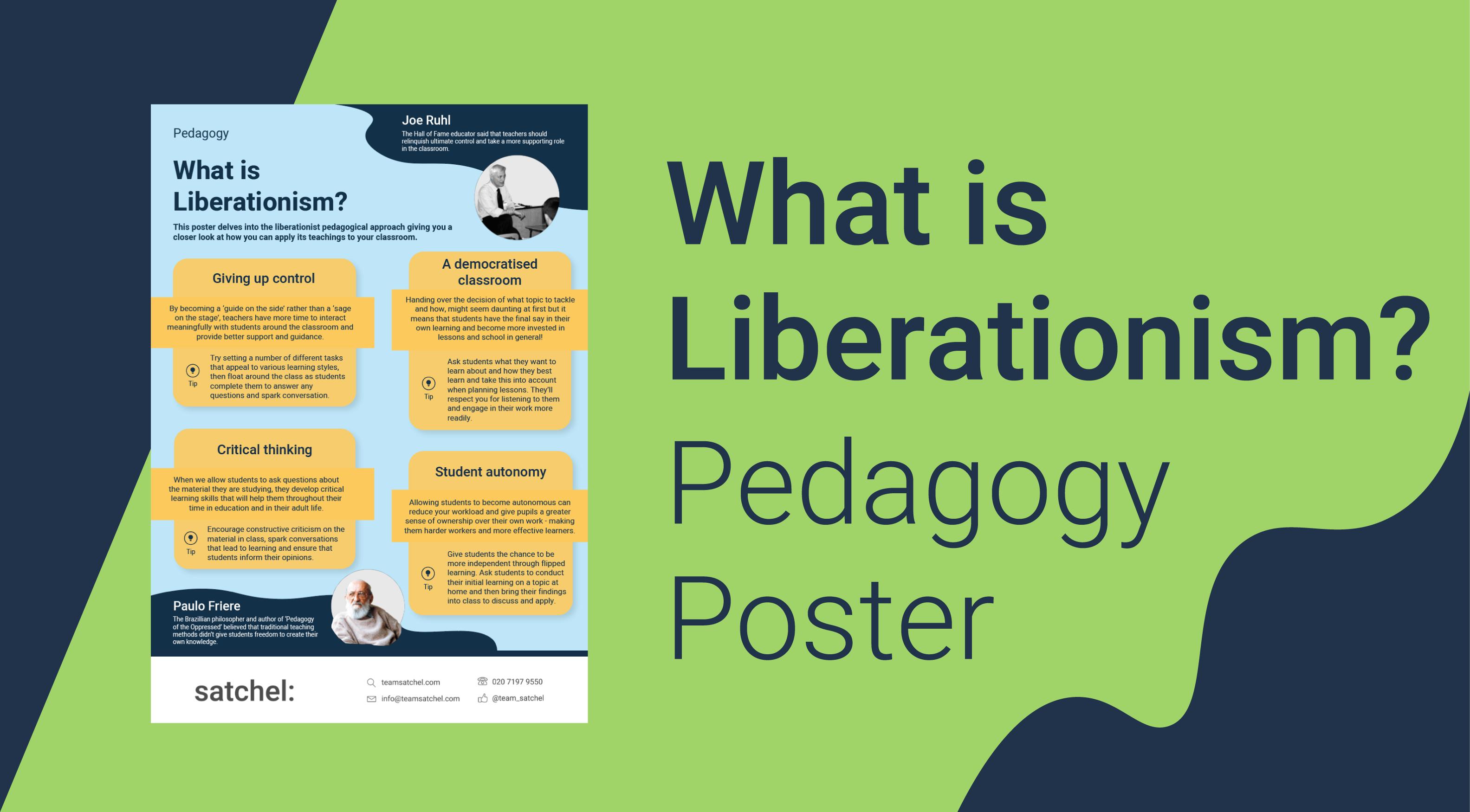 Pedagogy Liberationism Poster