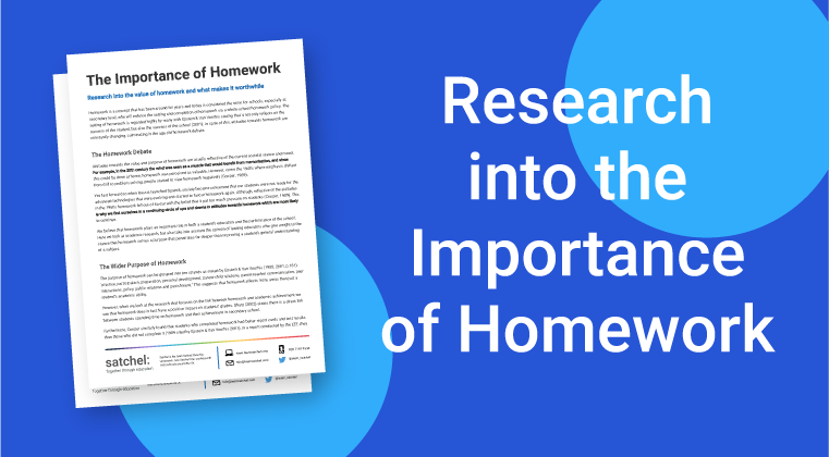 Research into Importance of Homework