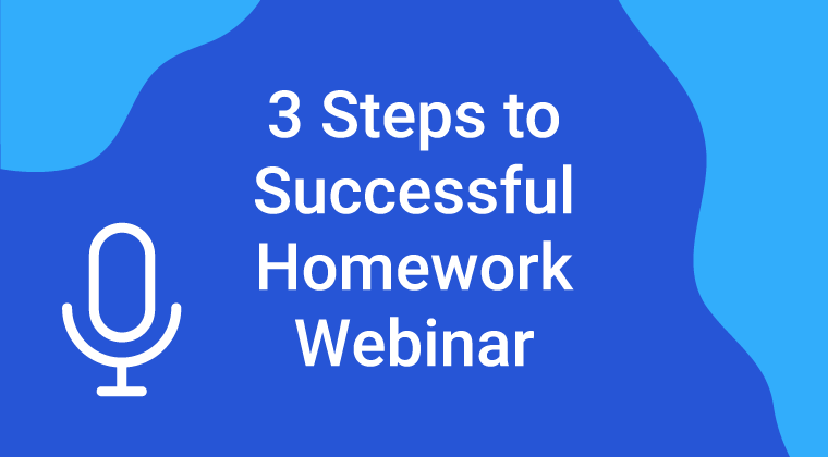Successful Homework Webinar