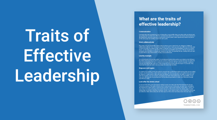 Traits of Effective Leadership
