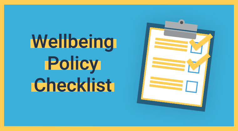 Wellbeing Policy Checklist RC Thumbnail