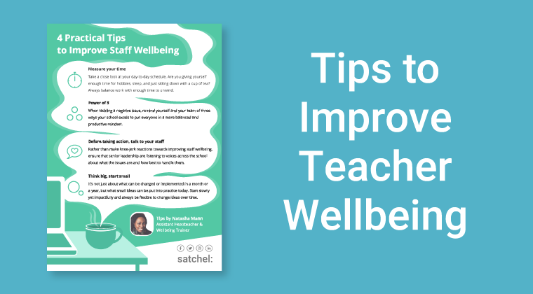 Wellbeing Tips for Teachers